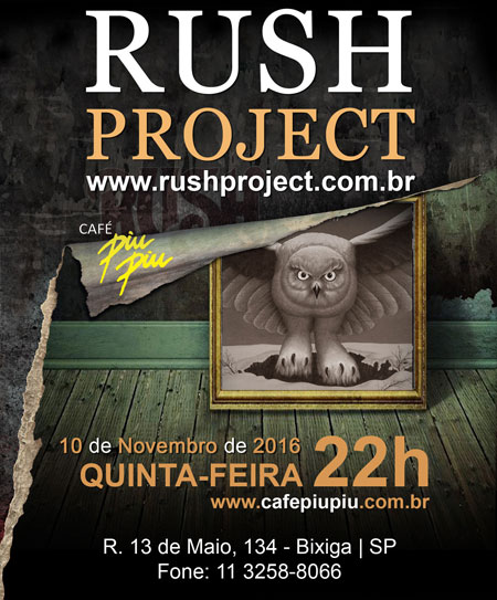Pr�ximo Show do Rush Project