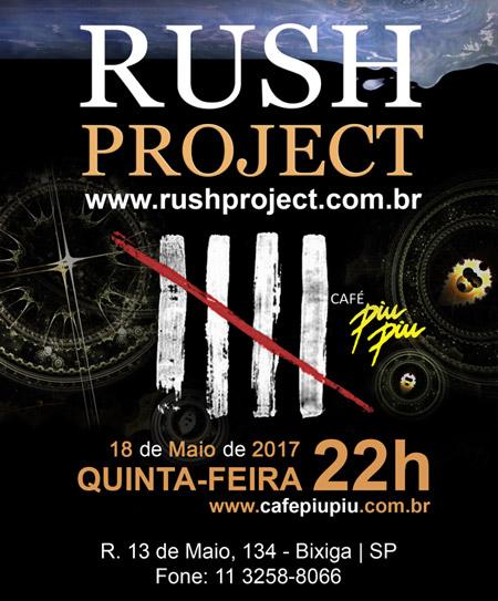 Próximo Show do Rush Project