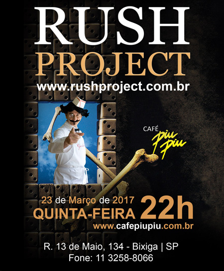 Próximo Show do Rush Project