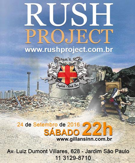 Pr�ximo Show do Rush Project